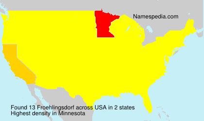 Froehlingsdorf - USA