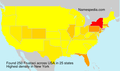 Surname Frustaci in USA
