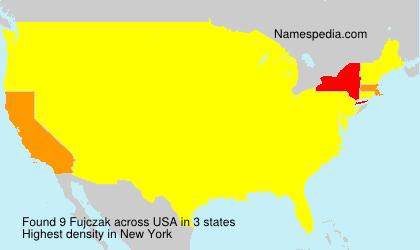 Surname Fujczak in USA