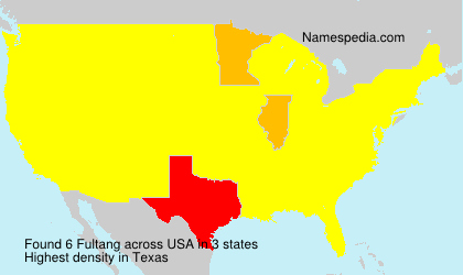 Surname Fultang in USA