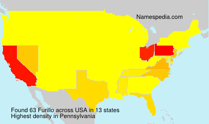 Surname Furillo in USA