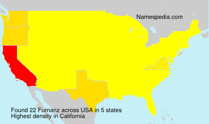 Surname Furnanz in USA