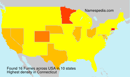 Surname Furnes in USA