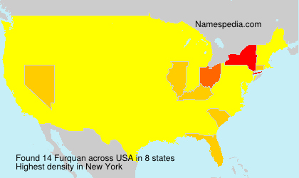Surname Furquan in USA
