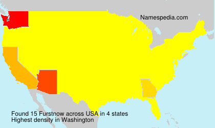 Surname Furstnow in USA