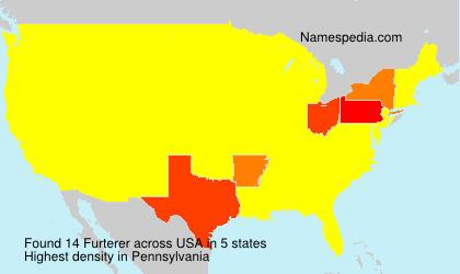 Surname Furterer in USA