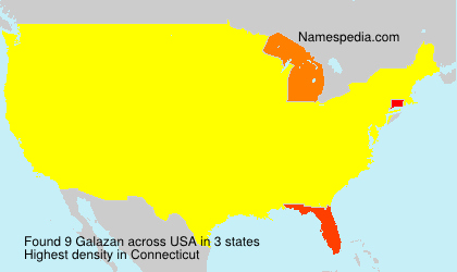 Surname Galazan in USA