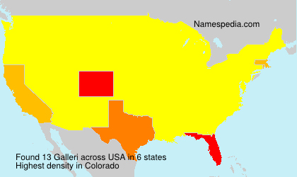 Surname Galleri in USA