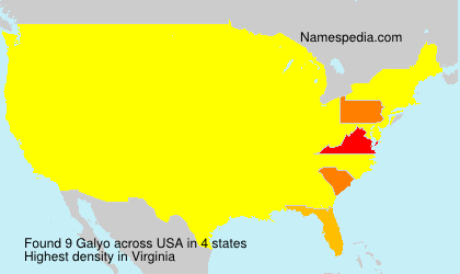 Surname Galyo in USA