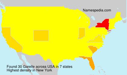 Surname Garelle in USA