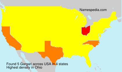 Surname Gargari in USA