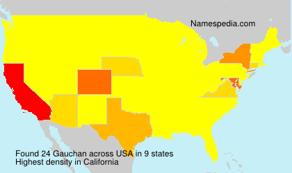 Surname Gauchan in USA