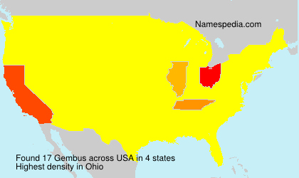 Surname Gembus in USA