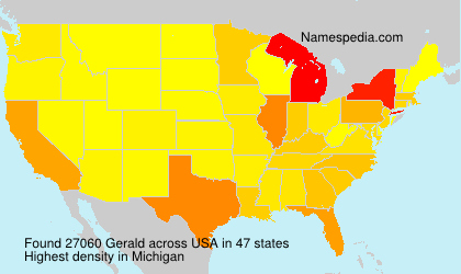 Surname Gerald in USA