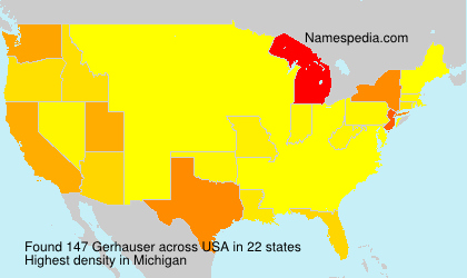 Surname Gerhauser in USA