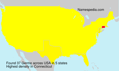 Surname Germe in USA