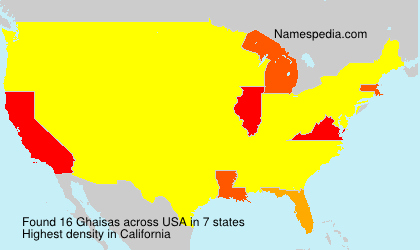 Surname Ghaisas in USA