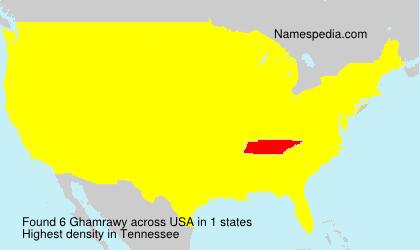 Ghamrawy - USA