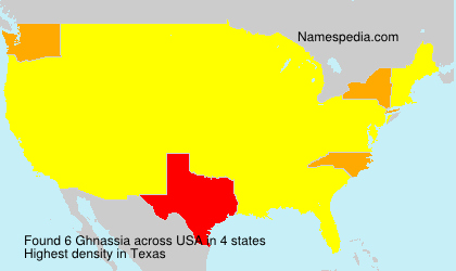 Surname Ghnassia in USA