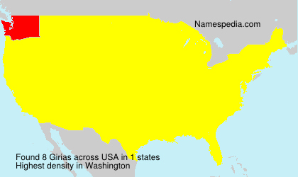Surname Girias in USA