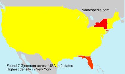 Gjodesen - USA