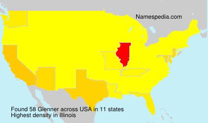 Surname Glenner in USA