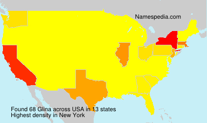 Surname Glina in USA