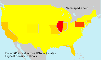 Surname Gocal in USA