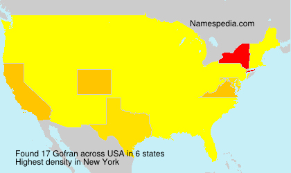 Surname Gofran in USA