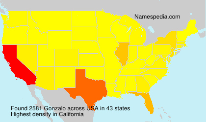 Surname Gonzalo in USA