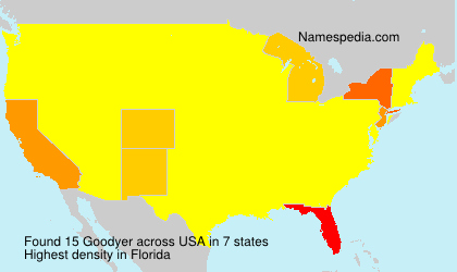 Surname Goodyer in USA