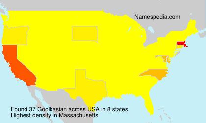Surname Goolkasian in USA