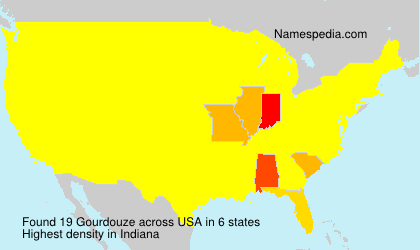 Surname Gourdouze in USA