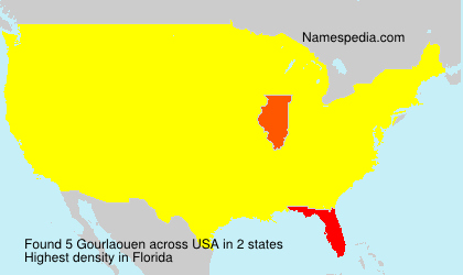 Surname Gourlaouen in USA