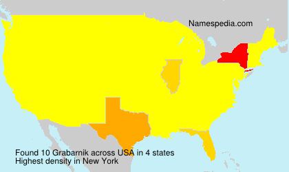 Surname Grabarnik in USA
