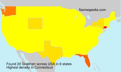 Surname Grabherr in USA