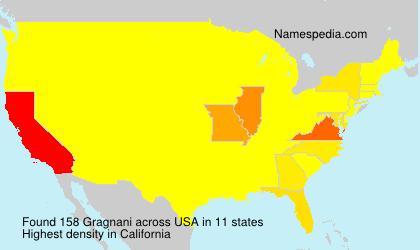 Surname Gragnani in USA