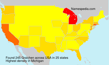 Surname Graichen in USA