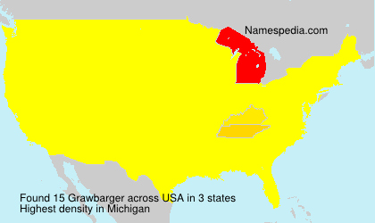 Surname Grawbarger in USA