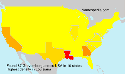 Surname Grevemberg in USA