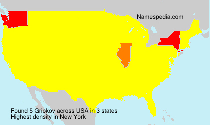 Surname Gribkov in USA