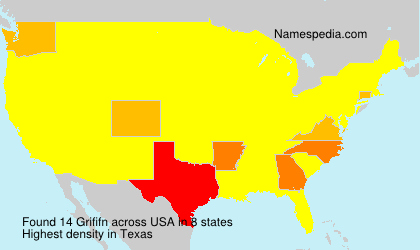 Surname Grififn in USA