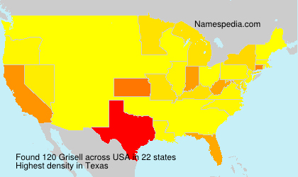 Surname Grisell in USA