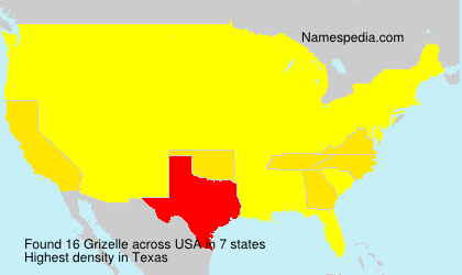 Surname Grizelle in USA