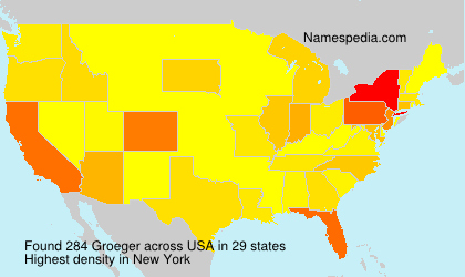 Groeger - Names Encyclopedia