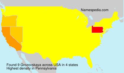 Grozovskaya