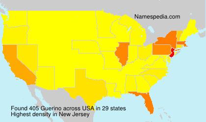 Familiennamen Guerino - USA