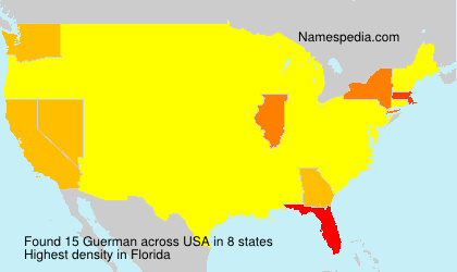Surname Guerman in USA