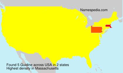 Surname Guidine in USA