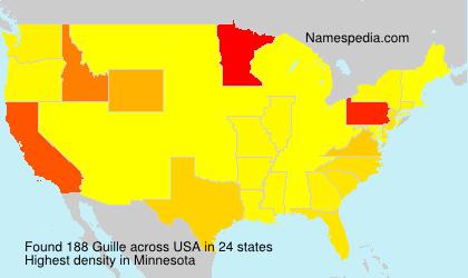 Familiennamen Guille - USA